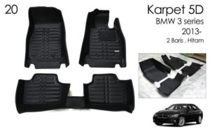 Karpet 5D Bmw 3 series 2013